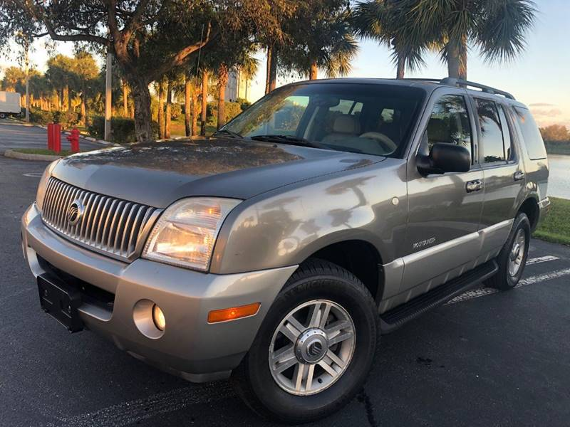 2002 mountaineer oil type