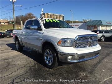 2015 RAM Ram Pickup 1500 for sale at Brian Jones Motorsports Inc in Danville VA