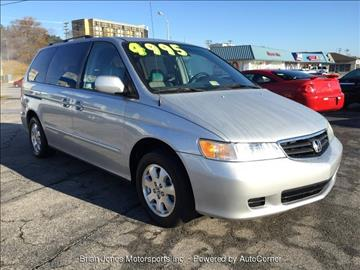 2004 Honda Odyssey for sale at Brian Jones Motorsports Inc in Danville VA