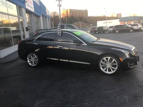2014 Cadillac ATS for sale at Brian Jones Motorsports Inc in Danville VA