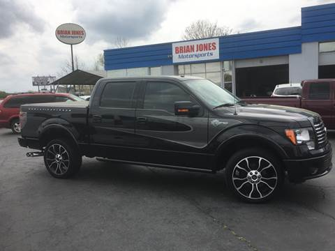 2012 Ford F-150 for sale at Brian Jones Motorsports Inc in Danville VA