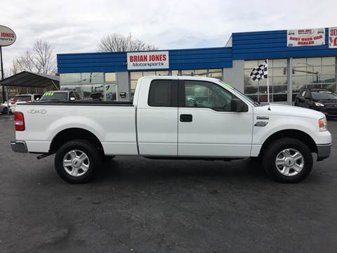 2004 Ford F-150 for sale at Brian Jones Motorsports Inc in Danville VA