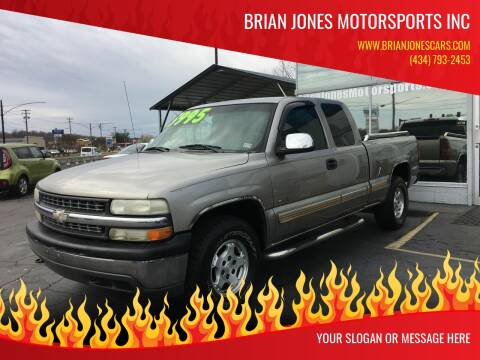 2000 Chevrolet Silverado 1500 for sale at Brian Jones Motorsports Inc in Danville VA