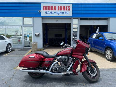 2017 Kawasaki VULCAN VAQUERO for sale at Brian Jones Motorsports Inc in Danville VA