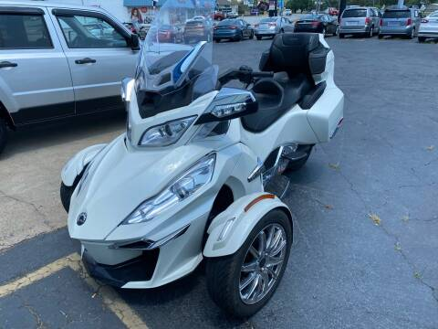 2015 Can-Am SPYDER RT LIMITED SE6 for sale at Brian Jones Motorsports Inc in Danville VA
