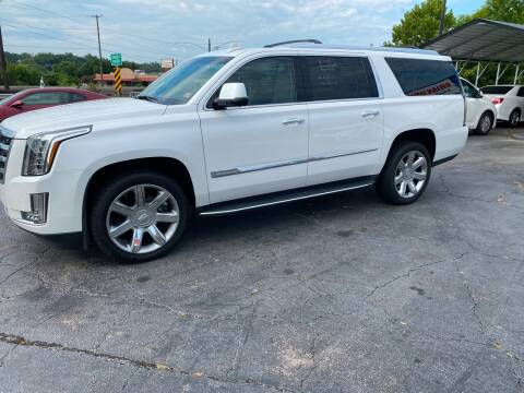 2016 Cadillac Escalade ESV for sale at Brian Jones Motorsports Inc in Danville VA