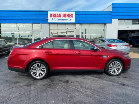2016 Ford Taurus for sale at Brian Jones Motorsports Inc in Danville VA