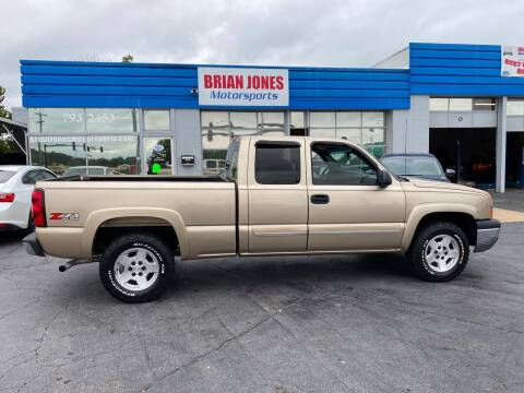 2004 Chevrolet Silverado 1500 for sale at Brian Jones Motorsports Inc in Danville VA
