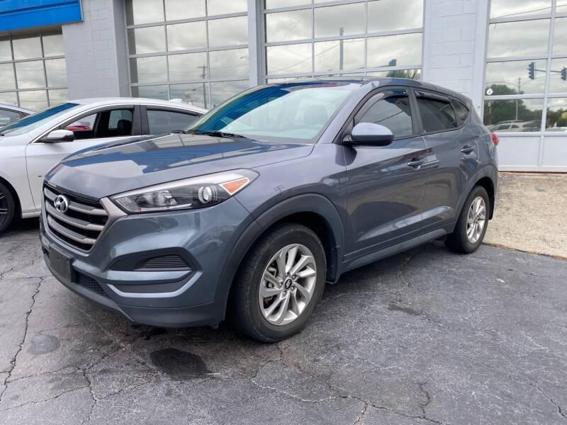 2016 Hyundai Tucson for sale at Brian Jones Motorsports Inc in Danville VA