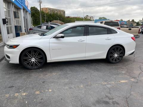 2017 Chevrolet Malibu for sale at Brian Jones Motorsports Inc in Danville VA