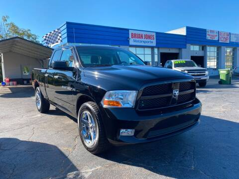 2012 RAM Ram Pickup 1500 for sale at Brian Jones Motorsports Inc in Danville VA