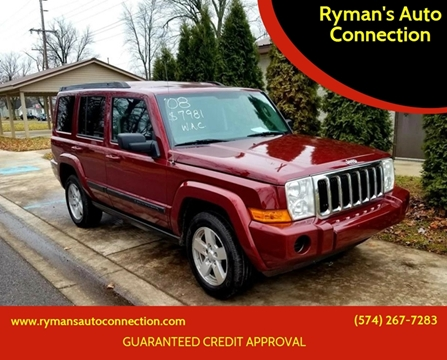 2008 Jeep Commander for sale in Warsaw, IN