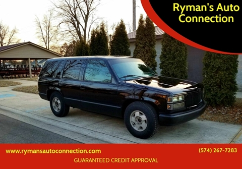 1996 GMC Yukon for sale in Warsaw, IN
