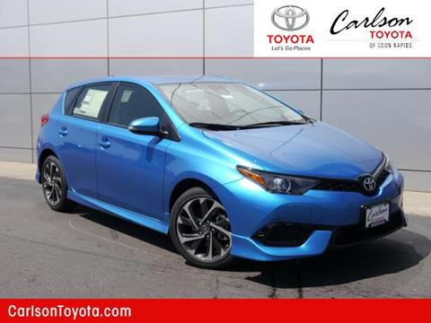 2017 Toyota Corolla iM for sale in Coon Rapids, MN