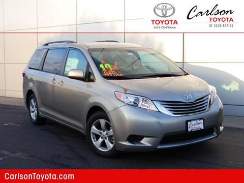 2017 Toyota Sienna for sale in Coon Rapids, MN