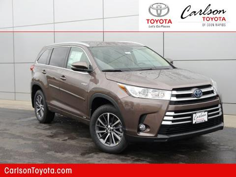 2017 Toyota Highlander Hybrid for sale in Coon Rapids, MN
