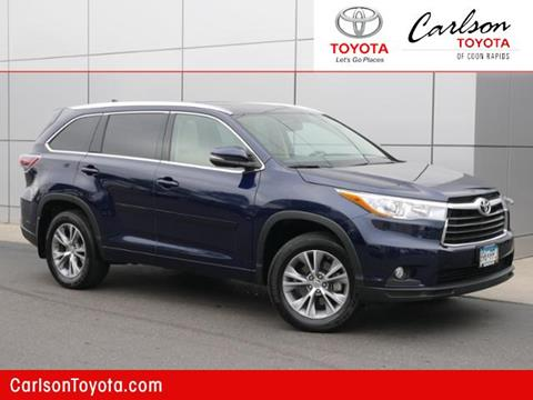 2015 Toyota Highlander for sale in Coon Rapids, MN