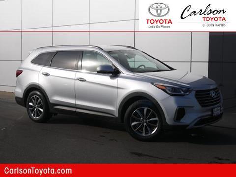 2017 Hyundai Santa Fe for sale in Coon Rapids, MN