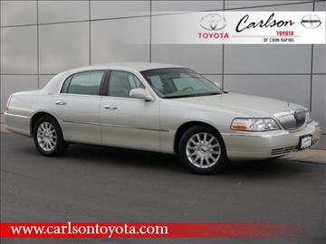 2007 Lincoln Town Car for sale in Coon Rapids, MN