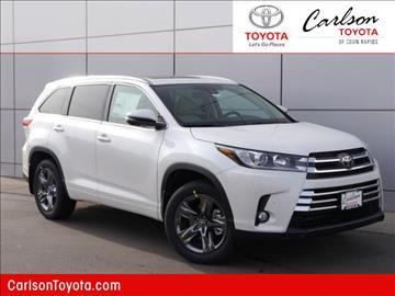 2017 Toyota Highlander for sale in Coon Rapids, MN