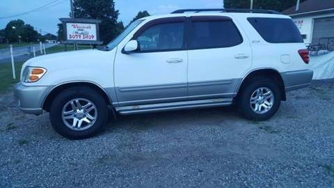 2001 Toyota Sequoia for sale at Billy's Auto Sales in Winston Salem NC