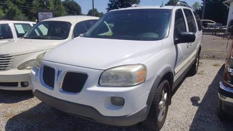 2005 Pontiac Montana SV6 for sale at Billy's Auto Sales in Winston Salem NC