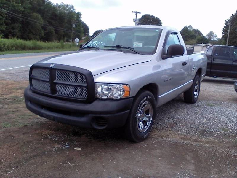2004 Dodge Ram Pickup 1500 for sale at Billy's Auto Sales in Winston Salem NC