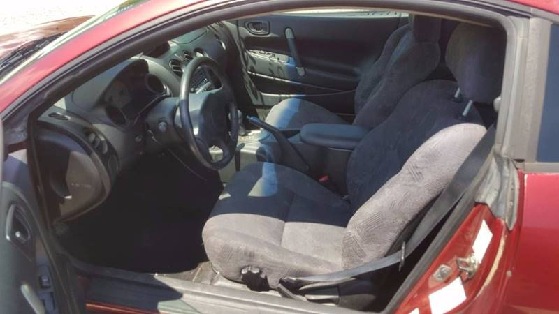 2002 Mitsubishi Eclipse for sale at Billy's Auto Sales in Winston Salem NC