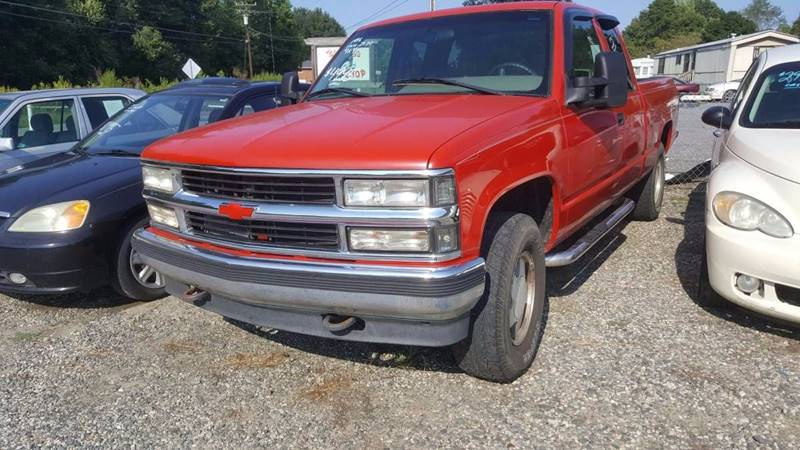 1996 Chevrolet C/K 1500 Series for sale at Billy's Auto Sales in Winston Salem NC
