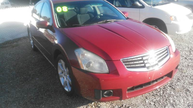 2008 Nissan Maxima for sale at Billy's Auto Sales in Winston Salem NC
