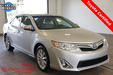 2014 Toyota Camry Hybrid for sale in Springfield, MI
