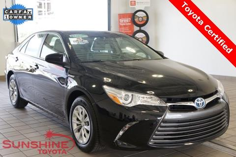 2015 Toyota Camry Hybrid for sale in Springfield, MI