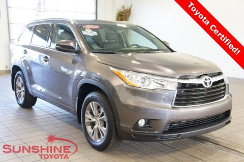 2014 Toyota Highlander for sale in Springfield, MI