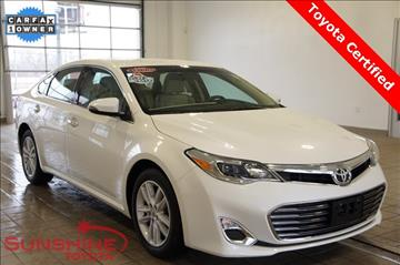 2013 Toyota Avalon for sale in Springfield, MI