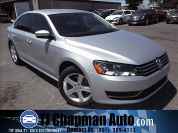 2014 Volkswagen Passat for sale in Salt Lake City, UT