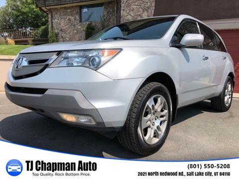 Acura MDX For Sale In Utah Carsforsalecom - Acura mdx 2007 price