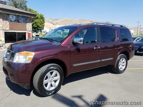 2015 Nissan Armada for sale in Salt Lake City, UT