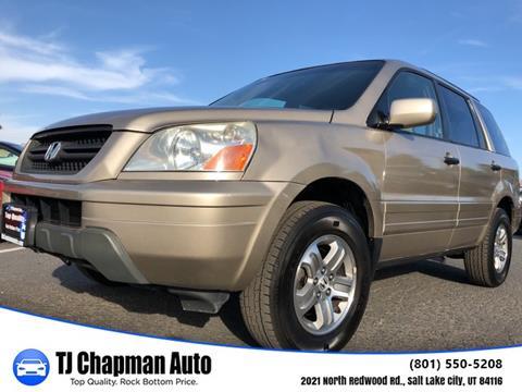 2005 Honda Pilot For Sale In Salt Lake City, UT