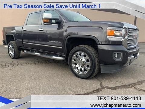 2015 GMC Sierra 2500HD for sale in Salt Lake City, UT