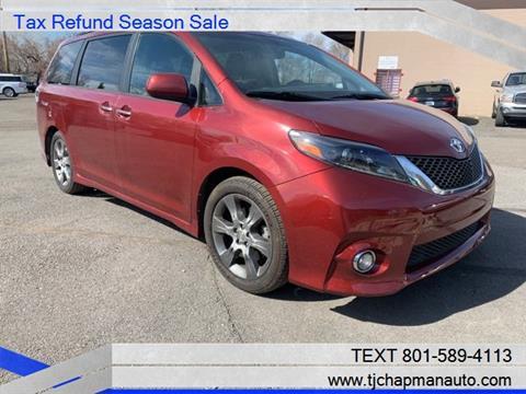 2015 Toyota Sienna for sale in Salt Lake City, UT