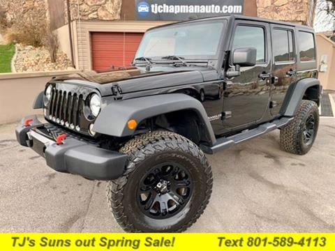 2017 Jeep Wrangler Unlimited for sale in Salt Lake City, UT