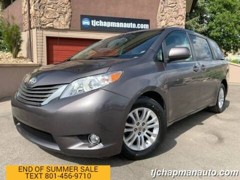 2014 Toyota Sienna for sale at TJ Chapman Auto in Salt Lake City UT