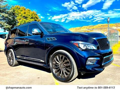 2016 Infiniti QX80 for sale in Salt Lake City, UT