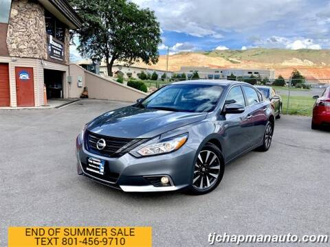 2018 Nissan Altima for sale at TJ Chapman Auto in Salt Lake City UT