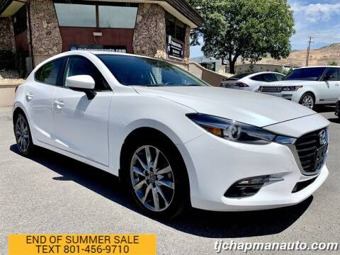 2018 Mazda MAZDA3 for sale at TJ Chapman Auto in Salt Lake City UT