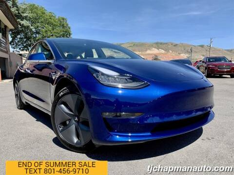 2019 Tesla Model 3 for sale at TJ Chapman Auto in Salt Lake City UT