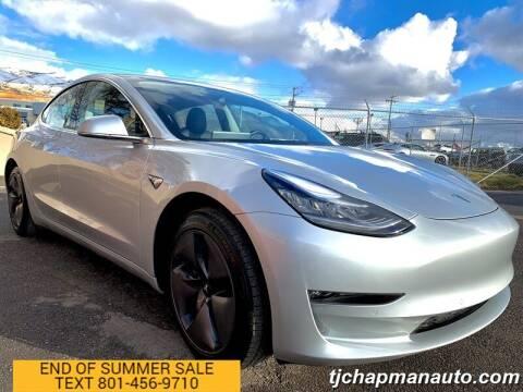 2018 Tesla Model 3 for sale at TJ Chapman Auto in Salt Lake City UT