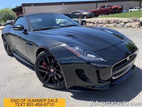 2016 Jaguar F-TYPE for sale at TJ Chapman Auto in Salt Lake City UT