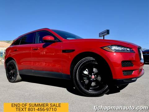 2019 Jaguar F-PACE for sale at TJ Chapman Auto in Salt Lake City UT