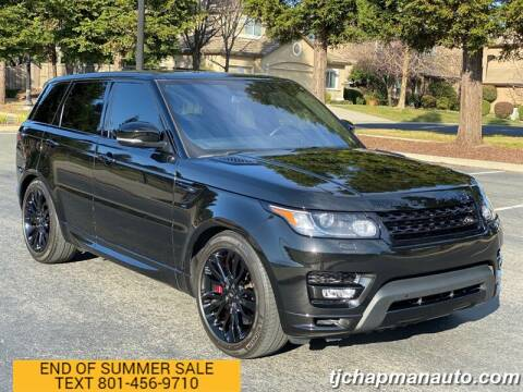 2016 Land Rover Range Rover Sport for sale at TJ Chapman Auto in Salt Lake City UT
